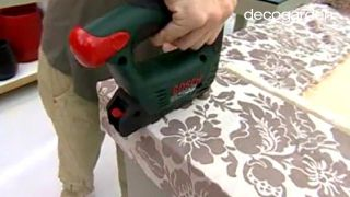 Cómo hacer un cabecero tapizado con tela - Paso 6