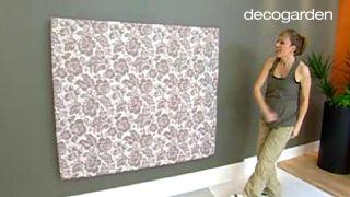 Cómo hacer un cabecero tapizado con tela - Paso 8
