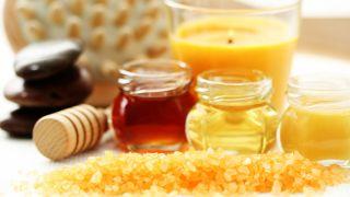 Exfoliante corporal de miel y naranja