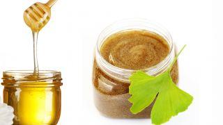 Exfoliante corporal casero de miel y aguacate