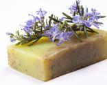 Jabón natural del jardinero de romero