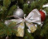 Adornos reciclados del árbol de Navidad
