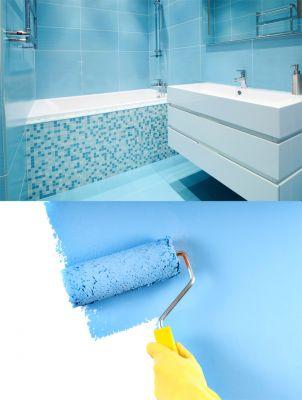 C mo pintar azulejos hogarmania - Esmaltes para azulejos ...