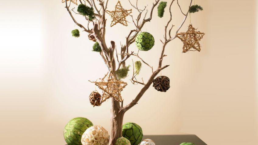 rbol de navidad con ramas