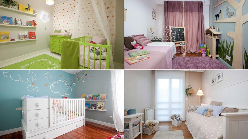 Dormitorios infantiles unisex excellent un dormitorio infantil para cuatro hermanos with - Decoracion de habitaciones infantiles ...