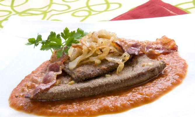 Receta de h gado de ternera empanado karlos argui ano for Cocinar higado de ternera