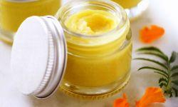 bálsamo labial con aceite esecnial de mandarina