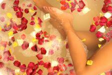 infusión de baño de ross y caléndula