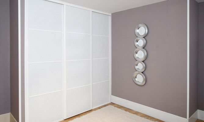 Crear puertas correderas para armario bricoman a - Puertas de cristal para armarios ...