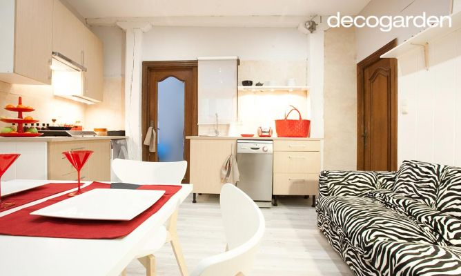 Decorar mini apartamento decogarden for Decoracion apartaestudios