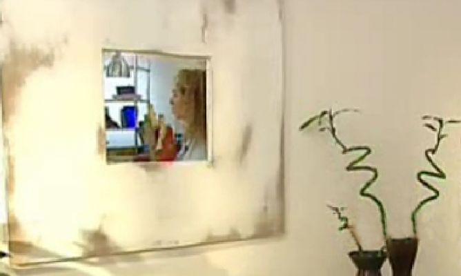 C mo crear un marco para un espejo hogarmania - Hacer marcos para espejos ...
