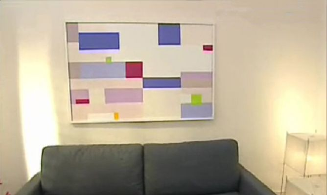 C mo crear un cuadro moderno y decorativo hogarmania - Pintar un cuadro moderno ...