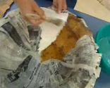 Crear bandejas de papel mache