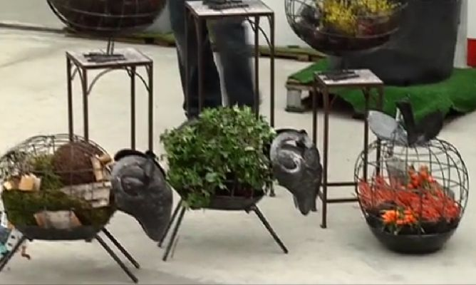 Recipientes originales de jardiner a hogarmania - Hogarmania jardineria ...