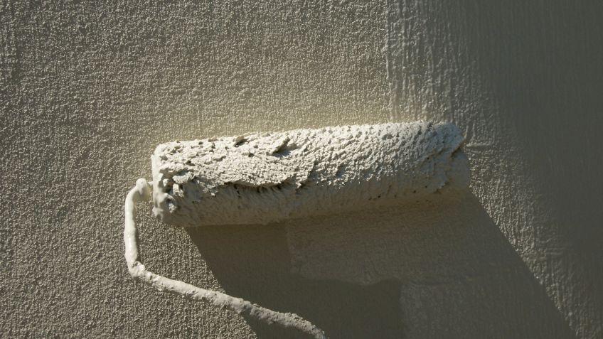 T cnicas de pintura con textura hogarmania - Tecnicas de pintura paredes ...
