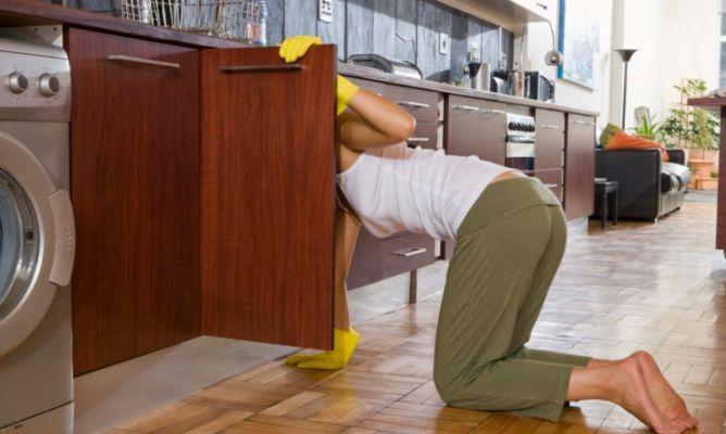 Limpiar y ordenar armarios de cocina - Hogarmania