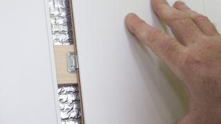 Aislar una pared de habitación