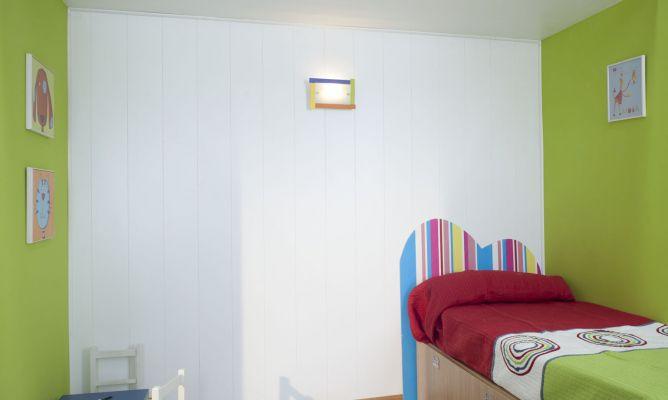 Aislar una pared de habitaci n bricoman a - Pintar paredes con gotele ...