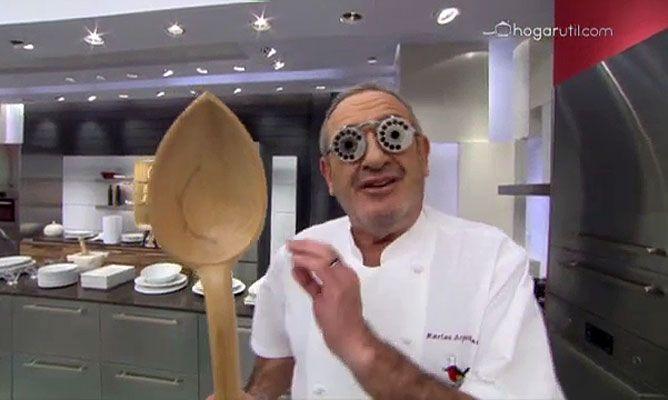 Argui ano cuenta un chiste de los oscar for Cocina karlos arguinano