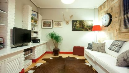 Decorar un pasillo largo y oscuro decogarden - Decorar salon en l ...