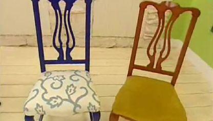 Cómo tapizar y renovar una silla paso a paso - Bricomanía