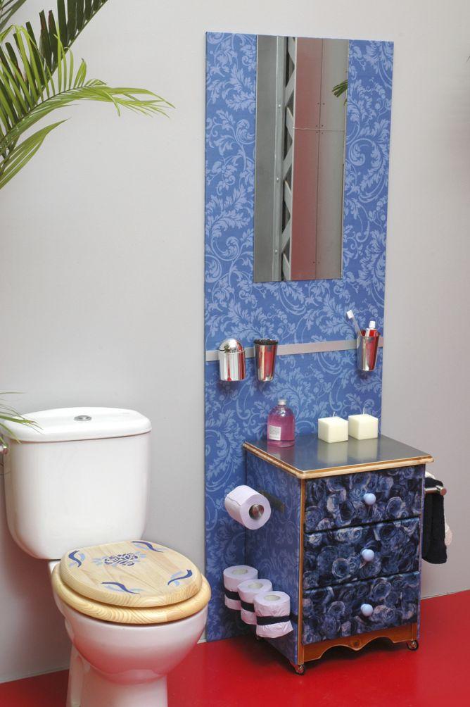 mural integral baño