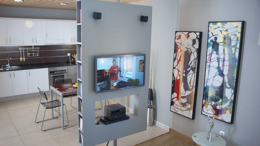 Crear mueble multimedia giratorio - Bricomanía