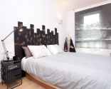 Decorar dormitorio de estilo moderno y urbano