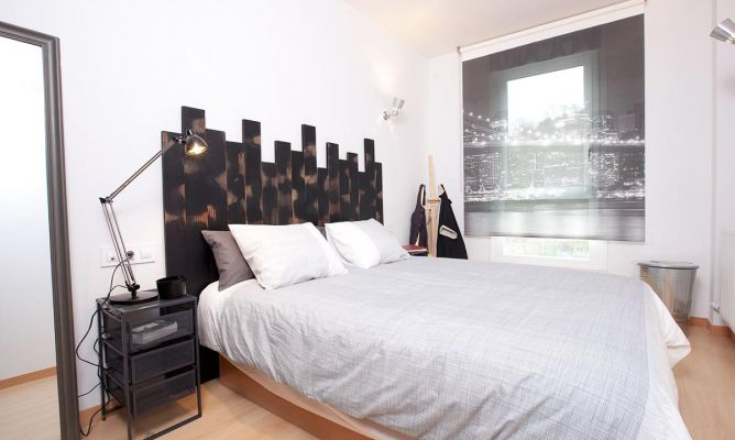 Habitacion Matrimonio Estilo Rustico : Decorar dormitorio de estilo moderno y urbano decogarden