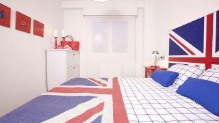 Dormitorio juvenil de estilo inglés o British - Paso 8