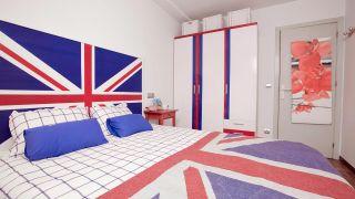 Dormitorio juvenil de estilo inglés o British - Paso 9