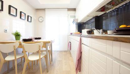 Decoraci n de estancias dormitorios sal n comedor - Cambiar encimera cocina sin obras ...