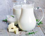 alimentos vista - pan, lácteos, huevo