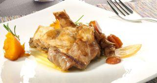 Redondo de ternera con setas al Oporto Gastronomía