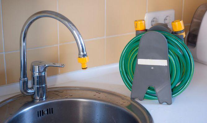 C mo conectar una manguera a un grifo bricoman a for Como se desarma una llave de ducha