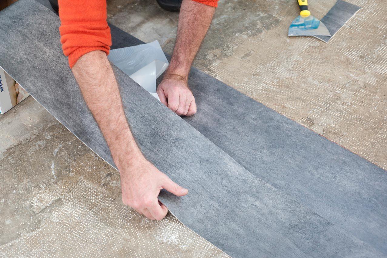 Colocar suelo vinilico