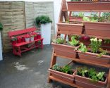 Crear una escalera para huerto