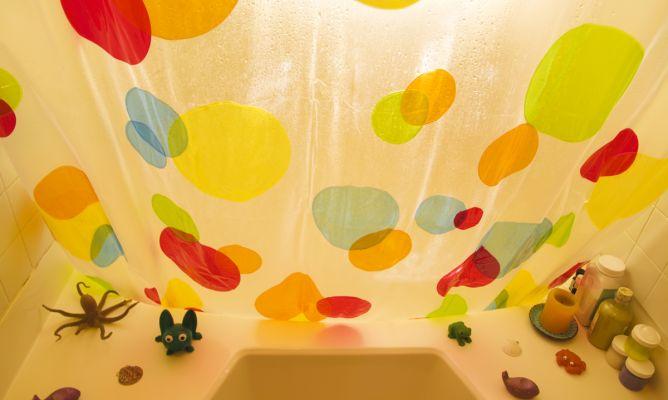 Limpiar las cortinas de la ducha hogarmania - Limpiar moho cortinas bano ...