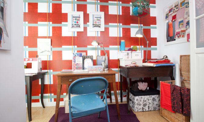 Decorar taller de costura con vestidor decogarden Disenar habitacion ikea