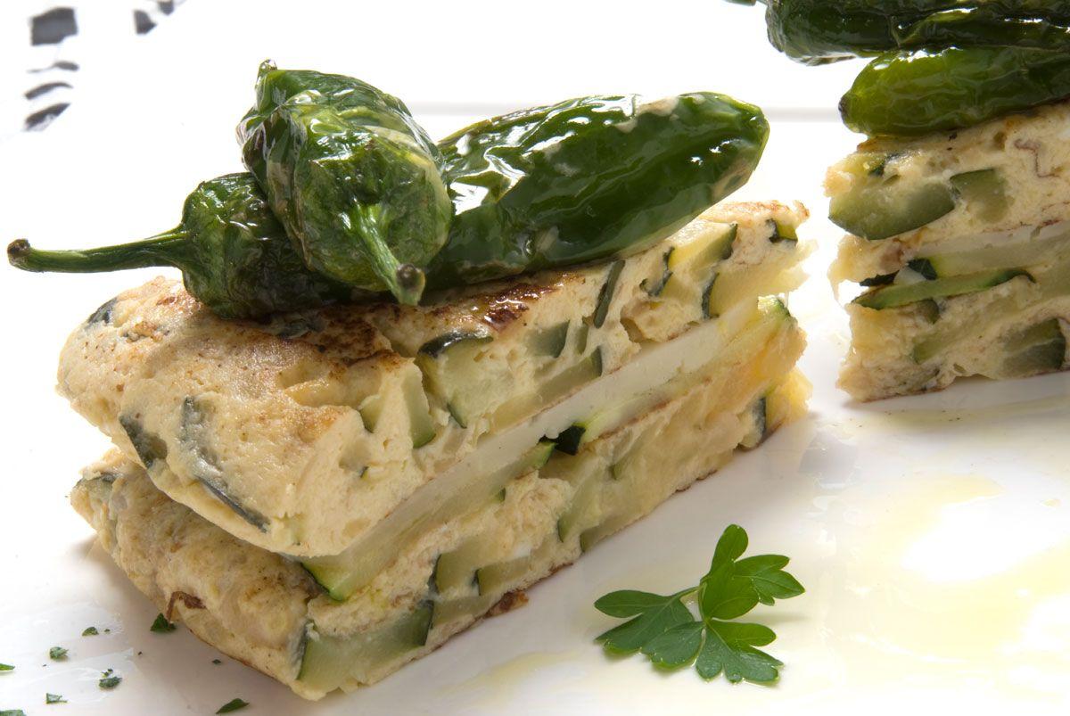 Las mejores recetas de calabacín de Karlos Arguiñano - Tortilla de calabacín