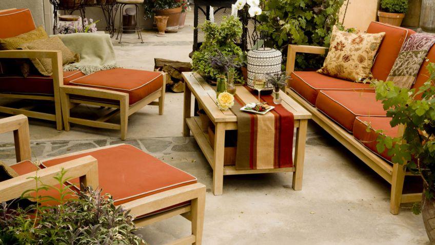 Puesta a punto de los muebles del jardín - Hogarmania