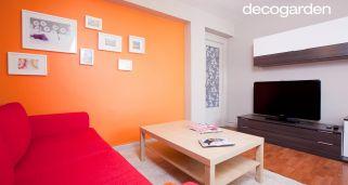 Salones de colores decogarden for Colores para pintar un comedor moderno