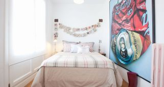 Decorar dormitorio con aires afrancesados