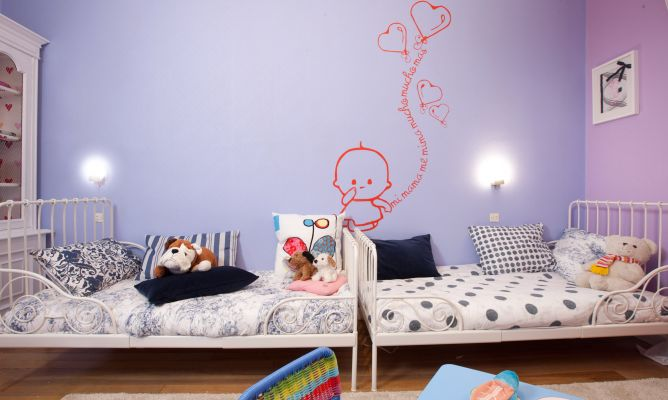 Decorar un dormitorio para gemelos o mellizos decogarden for Programa para decorar habitaciones online