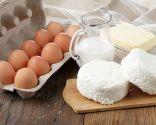 Huevos, lácteos