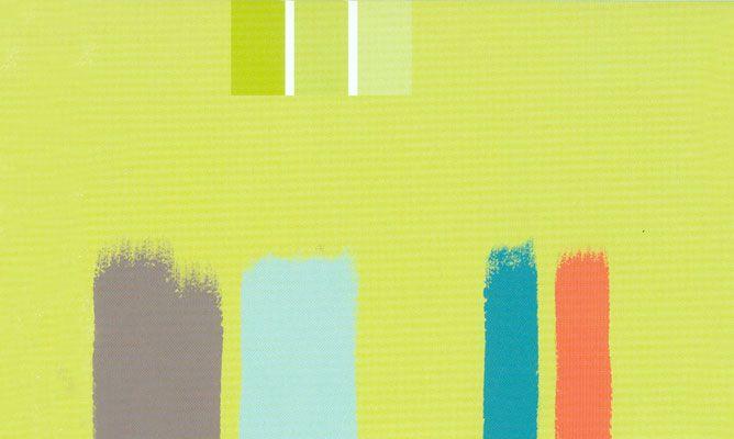 Verde lima hogarmania for Pintura color tostado