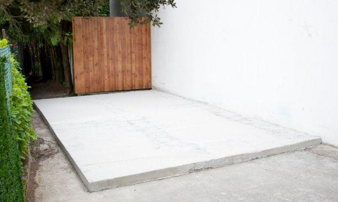 Crear una solera de hormig n bricoman a for Moldes para pavimentos de hormigon