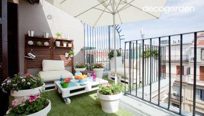 Decorar una terraza de 8m2 hogarmania - Terrazas chill out decoracion ...