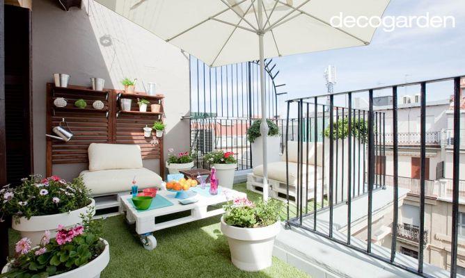 Decorar terraza de estilo chill out - Decogarden