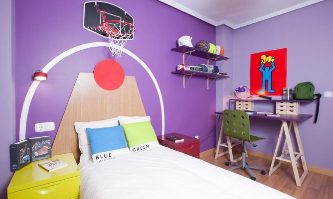 Decorar habitación juvenil, divertida y funcional   decogarden